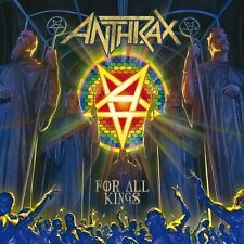 ANTHRAX - FOR ALL KINGS - 2LP BLACK VINYL NEW SEALED 2016