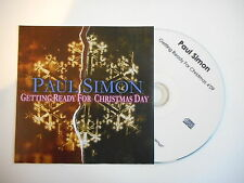 PAUL SIMON : GETTING READY FOR CHRISTMAS DAY [ CD SINGLE PROMO PORT GRATUIT ]
