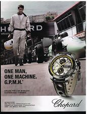 Publicité Advertising 2014 La Montre Chopard Grand prix de Monaco