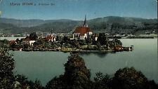 Wörther See 1915 Maria Wörth Stempel K.u.K. Militär Zensur gelaufen Wittgensdorf
