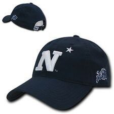 US Naval Academy USNA Midshipmen Cotton Low Crown Polo Style Baseball Cap Hat