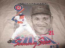 1997 SAMMY SOSA No. 21 CHICAGO CUBS (XL) T-Shirt