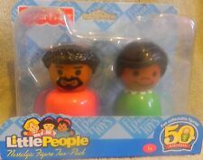 NEW FISHER PRICE LITTLE PEOPLE 50TH BIRTHDAY HUSBAND & WIFE AFRICAN AMERICAN