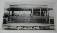 USA573 - SHEBOYGAN CITY RAILWAY Co - HORSE CAR TROLLEY No6 PHOTO Wisconsin USA