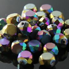 10 Pieces 10mm Swarovski Flat drum crystal bead B colorful