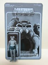 2015 EXCLUSIVE SUPER 7 MOTU MASTERS OF UNIVERSE MER MAN ACTION FIGURE B&W NYCC