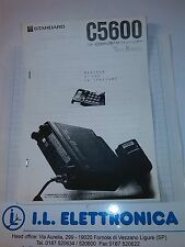 MANUALE IN ITALIANO FOTOCOPIA istruzioni d'uso per STANDARD C5600