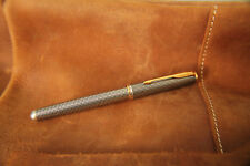 Parker Sonnet Cisele  Sterling Silver Fountain Pen - early version