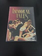 IMMORAL TALES DVD FILM BY PALOMA PICASSO  WALERIAN BOROWCZYK
