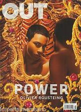 Out magazine The power issue Olivier Rousteing William Moseley Giorgio Moroder