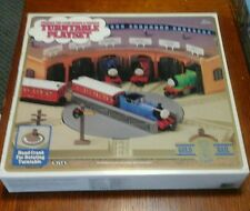 Thomas the Tank  Engine TURNTABLE PLAYSET 1993 ERTL Gold Rail Series
