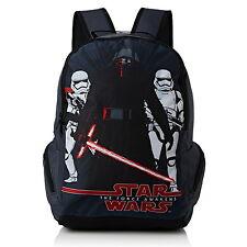 NEW OFFICIAL Star Wars Episode 7 Boys Large Sports Backpack Rucksack School Bag