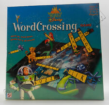 DISNEY WORD CROSSING GAME FACTORY SEALED (2000) *NIP*