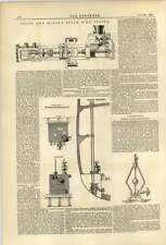 1874 Shan Mason Steam Fire Engine Mein Governor