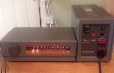 Quad 303 Stereo Power Amplifier & Quad FM 3 Tuner WORKING PLEASE READ !!
