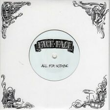 """Face To Face """"All For Nothing"""" clear seven inch vinyl EP [Punk Rock from USA]"""