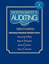 Montgomery Auditing Continuing Professional Education, Jaenicke, Henry R., Gerso