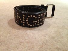 All Saints Leather Studded Belt 'Angel Of The North'