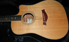 2014 Taylor 410ce Spring Limited Edition Ovangkol Back Sitka Spruce Top RARE
