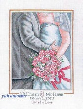 Dimensions Cross Stitch Kit - Embrace Wedding Record