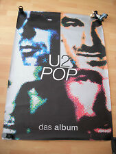 U2 -Pop - Official Record Release Poster 1997 - XXL Poster !!!