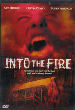 INTO THE FIRE Sexy Olivia D'abo/Susan Anspach NEW DVD
