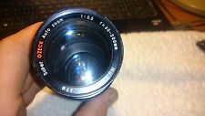 CAMERA LENS - SUPER OZECK 80~200mm f5.5 ZOOM LENS FOR CANON FD - PHOTOGRAPHY