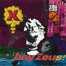 X  -  Hey Zeus!  - 1993 Exene Cervenka John Doe NEW