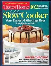NEW! TASTE OF HOME HOLIDAY SLOW COOKER 162 Recipes Full Meals Cheesecakes Sides