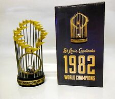 ST LOUIS CARDINALS 1982 WORLD SERIES CHAMPION REPLICA TROPHY SGA 6/30/15 5000456