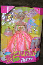 Mattel Birthday Party Barbie Doll 1998 New In Box