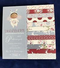 Tilda Sweetheart Mini Patterned Paper Pad 24 Double Sided Sheets Acid Free