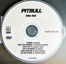 Pitbull DVD Music videos Ke$ha Timber, J.lo, Shakira,  Christina Aguilera promo