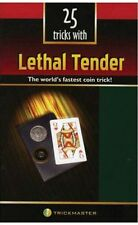 25 TRICKS WITH LETHAL TENDER BOOK MAGIC COIN CARD TRICKS ROUTINES