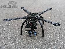 S500 Quadcopter Multicopter Frame Kit PCB Version with Landing Gear-4 Black Arms