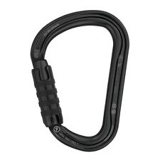 Petzl WILLIAM H-frame TRIACT LOCKING Black tactical carabiner PM36ATLN New 2016