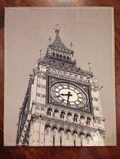 Mousepad. London's Big Ben. Black & White