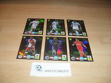 PANINI ADRENALYN XL LIGUE 1 2016/2017: 6 CARTES NEUVES  EDITION LIMITéE