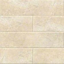 "BEIGE CREMA Subway Backsplash Tile Ceramic 4"" X 16"" KITCHEN BATHROOM 50 pc 22sqf"