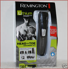 Remington LITHIUM Head to Toe CORDLESS Groomer - Beard Head Body Shaver Trimmer