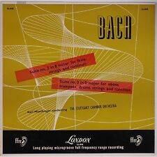 BACH: Suites for Strings MUNCHINGER London UK Vinyl LP NM-