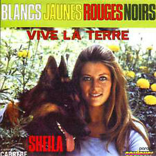 CD single SHEILA Blancs jaunes rouges noirs - Vive la terre 2-track CARD SLEEVE