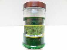 NEW Langley Tuscany Candle 3.75 OZ Jar Candle FRASER FIR Scent Single Wick
