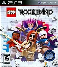 SONY PLAYSTATION 3 PS3 Game LEGO ROCKBAND ROCK BAND Complete Guitar Hero