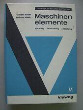 Maschinenelemente Normung Berechnung Gestaltung 1970
