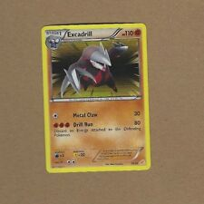POKEMON EXCADRILL FOIL CARD FREE SHIPPING