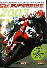 SUPERBIKE WORLD CHAMPIONSHIP REVIEW 2003 DVD