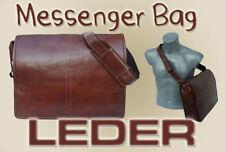 ALDO MESSENGER BAG aus LEDER braun Schultertasche Umhängetsche NEU A4 UNISEX TOP