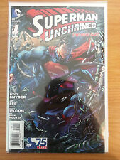 Superman Unchained 1, 2, 3. VF/NM 1st printing