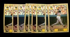 1987 TOPPS #320 BARRY BONDS RC LOT OF 25 MINT *INV1839